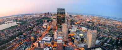 Boston Sunset Royalty Free Stock Photo