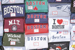 Boston T-shirts Stock Photo