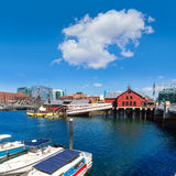 Boston Tea Party in Massachusetts Royalty Free Stock Photos