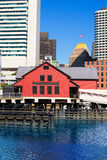 Boston Tea Party in Massachusetts Stock Photos