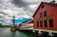 The Boston Tea Party Museum, in Boston, Massachusetts. Stock Photo