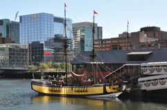 The Boston Tea Party Museum in Boston, Massachusetts Stock Images