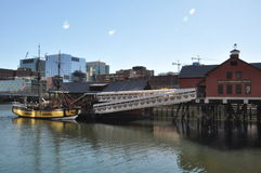 The Boston Tea Party Museum in Boston, Massachusetts Stock Image