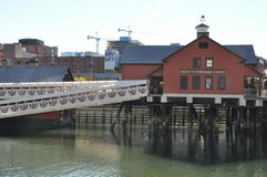 The Boston Tea Party Museum in Boston, Massachusetts Stock Photos