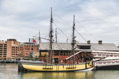 The Boston Tea Party Museum Stock Image
