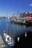 Boston Tea Party Ship and Museum, Boston, Massachusetts Stock Photos