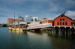 Boston tebjudningmuseum - Boston, MOR Arkivbild