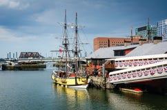 Boston tebjudningmuseum - Boston, MOR Royaltyfri Bild