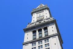 Boston - torre de aduanas Fotos de archivo