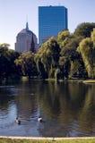boston trädgårds- allmänhet Royaltyfria Bilder