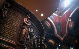 Boston trójcy kościół Fotografia Stock