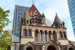 Boston trójcy kościół, usa Fotografia Royalty Free