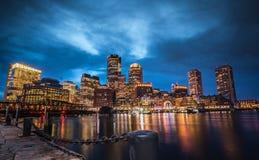 Boston Treenighetkyrka Royaltyfri Fotografi