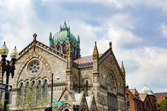 Boston Trinity Church Stock Image