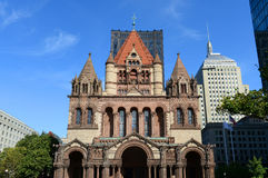 Boston Trinity Church, USA Royalty Free Stock Images
