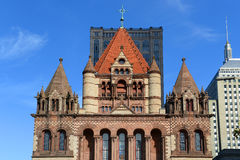 Boston Trinity Church, USA Royalty Free Stock Photos