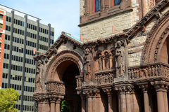 Boston Trinity Church, USA Stock Images