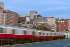 Boston-U-Bahn Stockbild