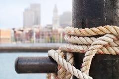 Boston-Ufergegend von Charlestown stockfoto