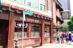 Boston Union Oyster House Stock Image