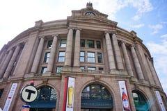 Boston railway station. Boston union station, railway station Stock Photos