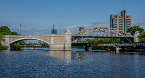 Boston University Bridge Stock Photography