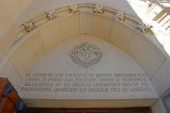 Boston University, Massachusetts, USA royalty free stock image