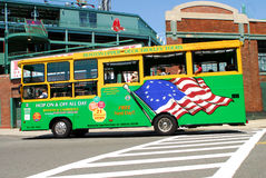 Boston Upper Deck Trolley Tours Bus Stock Photos