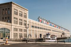Free BOSTON, USA - 05.09.2017 Seaport World Trade Center Building Located On The Waterfront Commonwealth Pier South Boston Stock Photo - 106187800