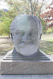 Boston-USA, October, 3: Statue of Arthur Fiedler in Boston city Royalty Free Stock Photography