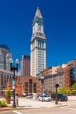 Boston USA: Sikt av tornet för beställnings- hus Royaltyfria Foton