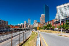 Boston, usa: Ulica Boston Zdjęcia Royalty Free