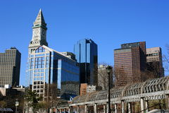 Boston view Stock Photography