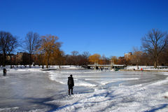 Boston vinter Royaltyfria Bilder
