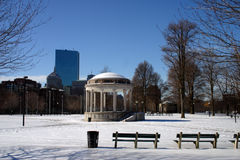 Boston vinter Royaltyfri Foto