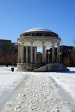 Boston vinter Fotografering för Bildbyråer