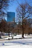 Boston vinter Arkivbilder