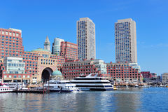 Boston waterfront Stock Photo