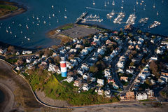 Boston wharf  Stock Image