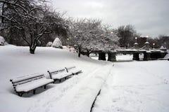Boston Winter Royalty Free Stock Image