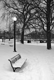 Boston-Winter Stockbild