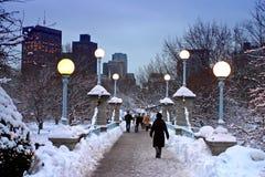 Boston Winter Royalty Free Stock Photo