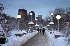 Boston Winter Royalty Free Stock Photography