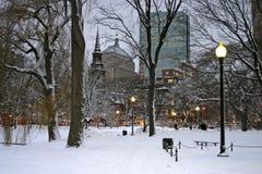Boston-Winter Stockbild