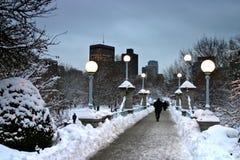 Boston Winter Stock Photography