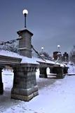 Boston-Winter Lizenzfreie Stockfotografie