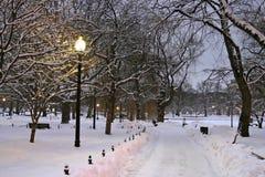 Boston-Winter Stockbilder