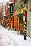 Boston-Winter Stockfoto