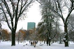 Boston-Winter Lizenzfreie Stockbilder