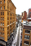 Boston-Winter Lizenzfreies Stockbild